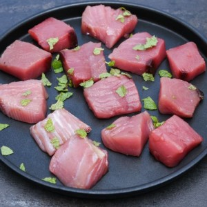 Fresh Yellow Fin Tuna Boneless Cubes (500gm Pack)
